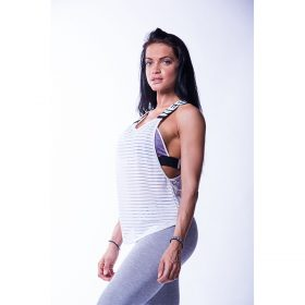 Wrap Up Tank Nebbia, alb, marime S