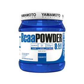 BCAA Powder 8:1:1 Yamamoto Nutrition, 300 grame, aroma de pepene verde