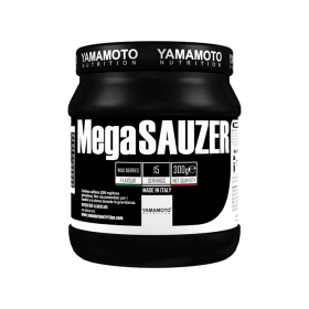 Energizant Yamamoto Nutrition MegaSAUZER, 300 grame, aroma de fructe de padure
