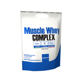 Proteina Yamamoto Nutrition Muscle Whey COMPLEX, 2000 grame, gust de vanilie
