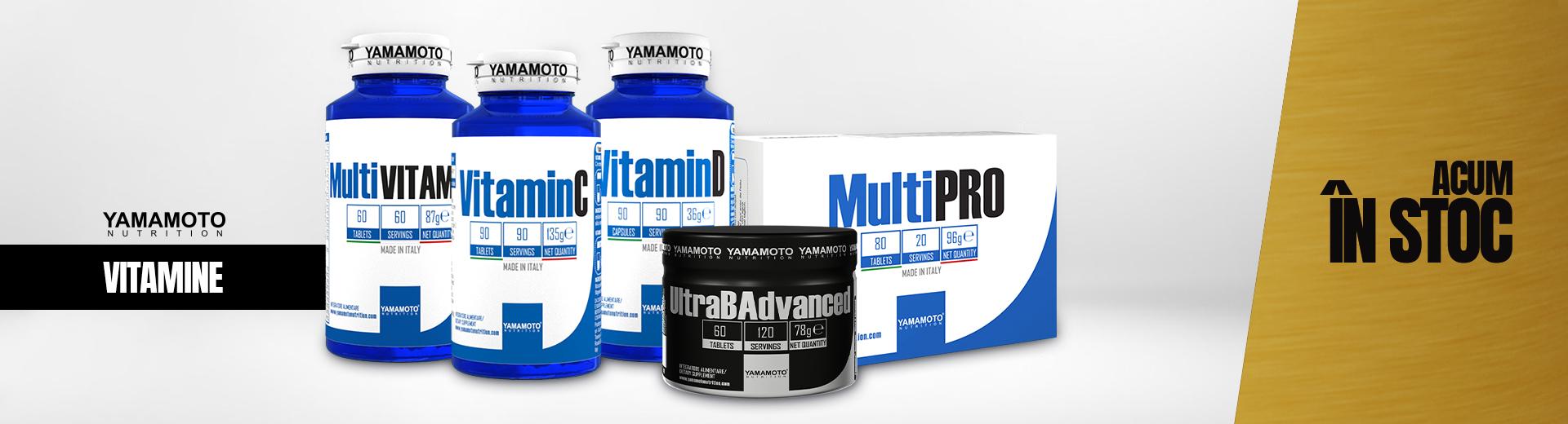 Alege vitaminele și mineralele Yamamoto Nutrition pentru o imunitate crescută!